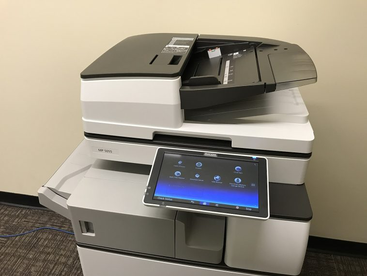Photo of Ricoh 5055 B&W MFP by Grbrumder