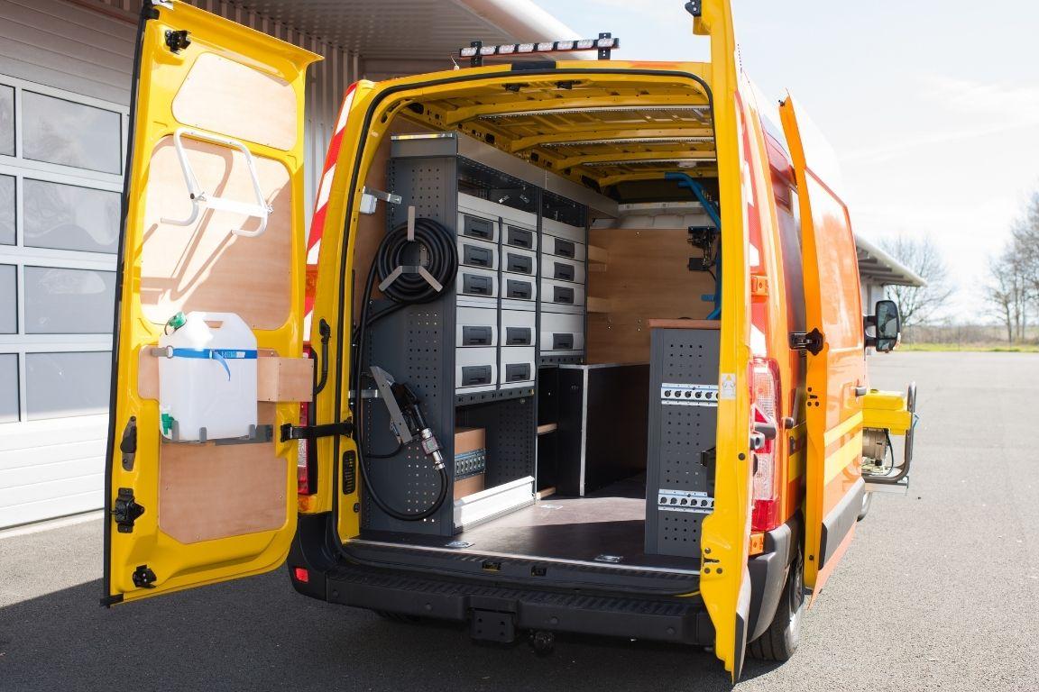 Ways To Increase the Amount of Storage in a Work Van