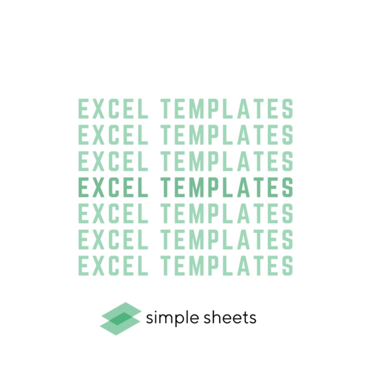 Raise Your Excel Spreadsheet Game with Simple Sheets Templates