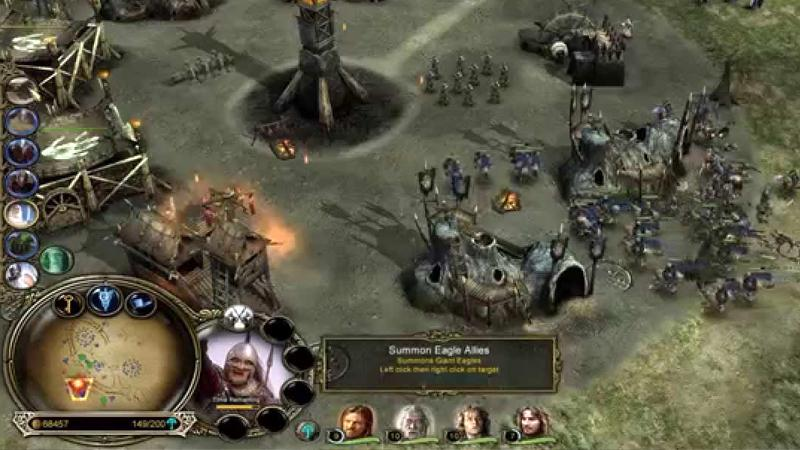 Lord of The Rings: The Battle for Middle-earth II video game