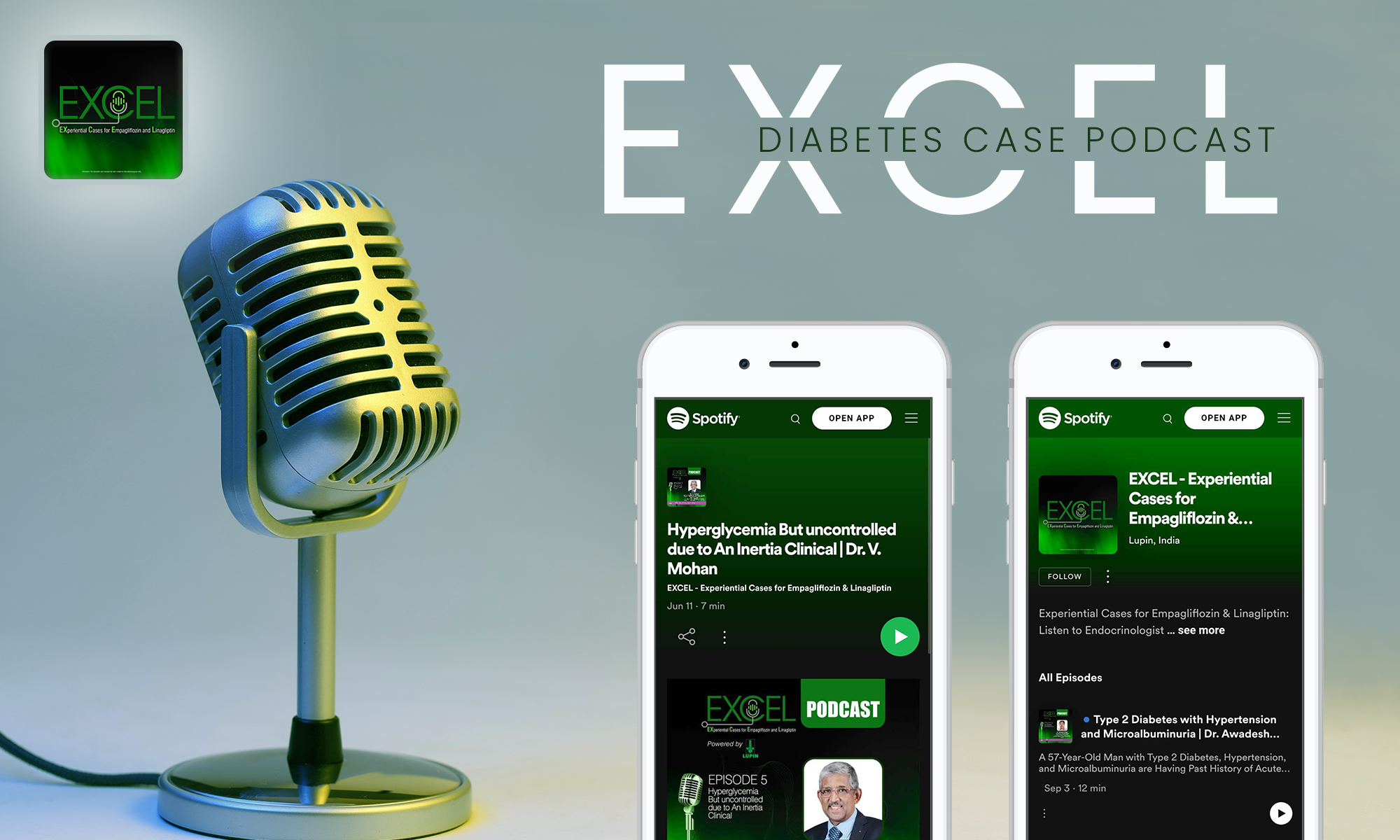 EXCEL Diabetes Case Podcast: A Must in Your Radar